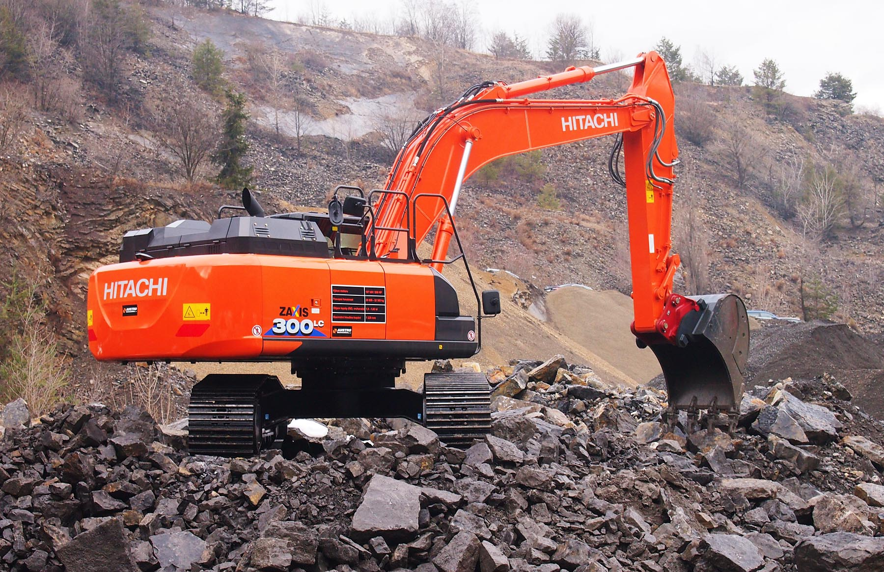 Hitachi ZX210LC-6 / ZX240N-6 / ZX250LC-6 / ZX300LC-6 / ZX350LC-6