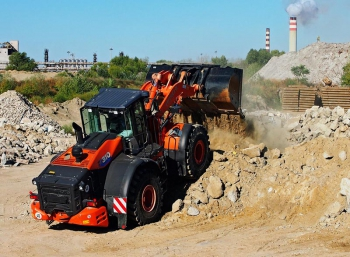 Hitachi ZW310-6 Demo Tour news
